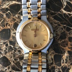Authentic Vintage Gucci luxury watch